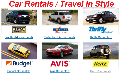 Cheap Flights And Car Rental Packages
