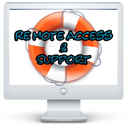 Remote Access & Support...Click Here